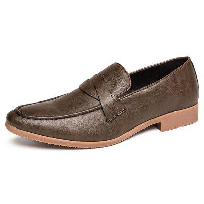 AILADUN Heren England Small Leather Shoes