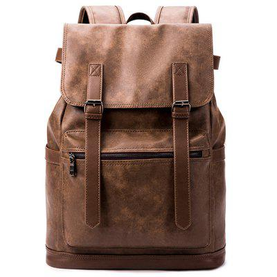 Man Big Travel Backpack High School Students Bag Male Korean Street Fashion Personality Minimalist Large Capacity