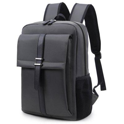 Men's Business Backpack General Computer Bag Large Capacity High School Students Pack