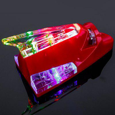Wind Powered Shark Fin Shape Car Lights Super Bright Strobe Cool Anti Rear-end Decorative Flash Lamp