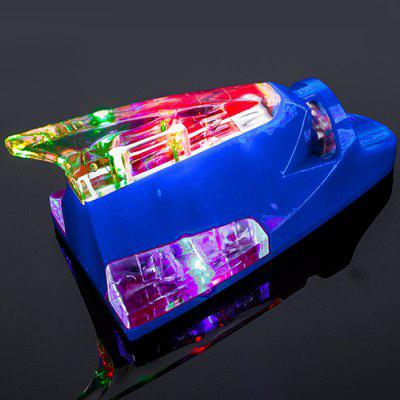 Door de wind aangedreven Shark Fin Shape Car Lights Super Bright Strobe koele anti Rear-end decoratieve flitslamp