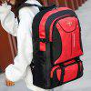 Outdoor Large Capacity Unisex Backpack Mountaineering Bag - RED
