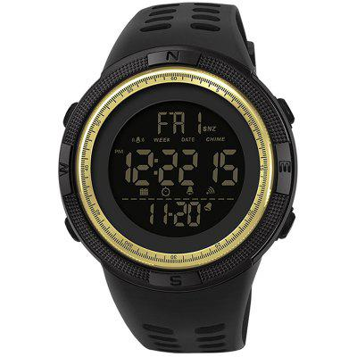 Sanda 2003 horloge Personality Trend Youth Multifunctionele Outdoor Sports waterdichte Single Movement