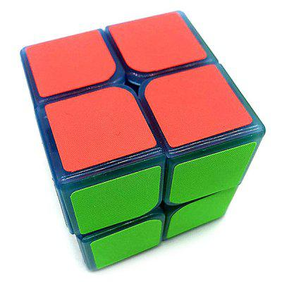 Albastru Night Vision Light 2 x 2 x 2 decompresia Timp liber Magic Cube