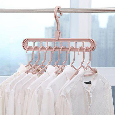 Household Multi Holes Ontwerp Wardrobe opslag Rack Multi-purpose Droogrekken