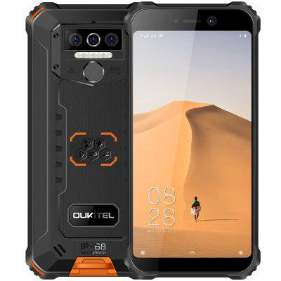 OUKITEL WP5 4G Smartphone 8000mAh batterij 5,5 inch 3 achteruitrijcamera Android 9.0 3GB RAM 32 GB ROM IP68 en IP69 waterdicht Global Version