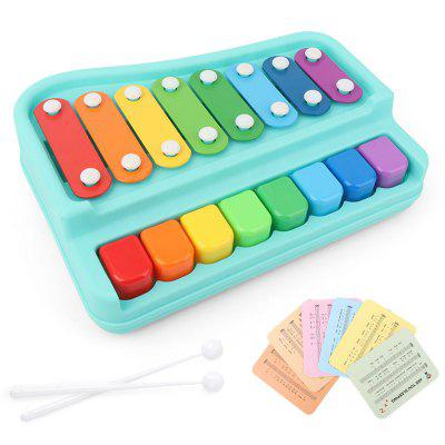 Hand Knocking Piano Puzzle Early Education Octave Piano Toy