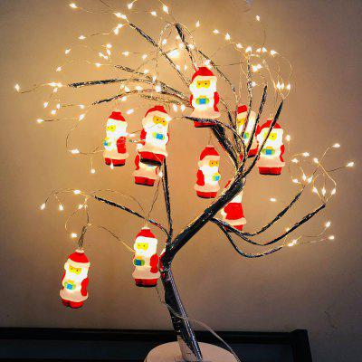 Santa Claus LED Light String Christmas Decoration