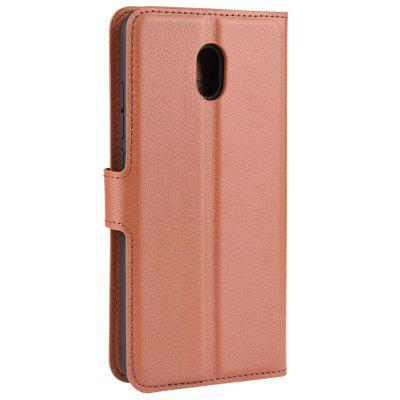 Naxtop TPU + PU Leather Wallet Flip Stand Protective Shell with Card Slot Phone Case for Xiaomi Mi 9 Pro / Mi 9 Pro 5G / Redmi 8A / Redmi 8
