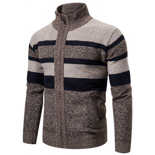 Generic Mens Winter Pullover Sweater Check Print Knit Basic Designed Sweaters