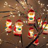Kerstman LED Light String Christmas Decoration - ROBIJN ROOD