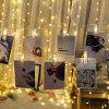 2.5m LED Foto Clip String Light 3 modes Creative Home Decoration - TRANSPARANT