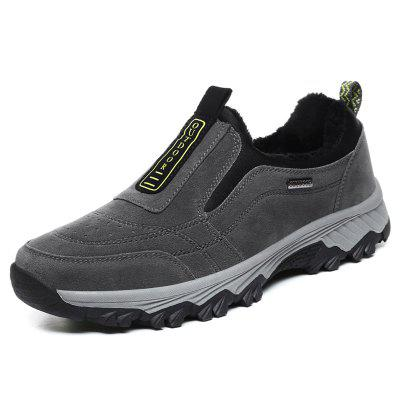 Men's Low-top Plus Hair Hiking Shoes for Old Age and Father