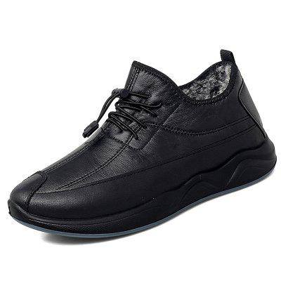 Herfst en Winter Plus Velvet Men's business casual Cotton Schoenen