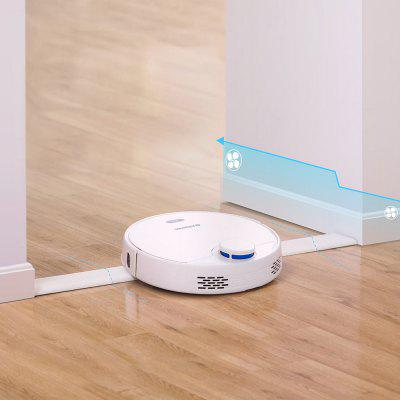 Alfawise V10 Max Laser Navigation Robot Wet and Dry Vacuum Cleaner 2 in 1 Sweeping Mopping Auto Recharge Resumption Smart APP Control Support Alexa Google Home EU Plug