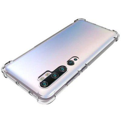 ASLING High Quality Narożniki Airbag Transparent Soft Shell Phone Case dla Xiaomi Mi Uwaga 10/10 Pro / Pro CC9