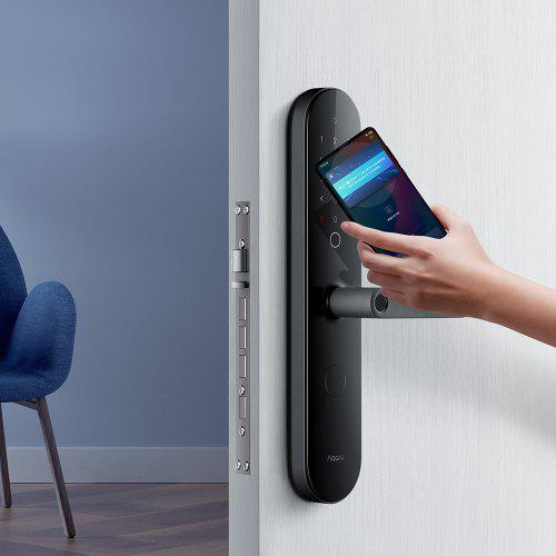 Aqara N100 Smart Door Lock Fingerprint Bluetooth Password Unlock Works with Mijia HomeKit Smart Linkage with Doorbell Feature from Xiaomi youpin
