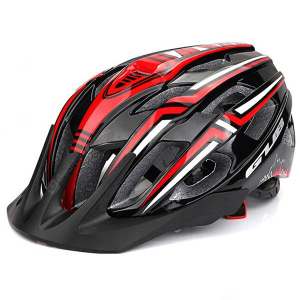 GUB A2 Riding Helmet with Rechargeable Taillight Adjustable Head Circumference with 9 Light Modes and 19 Air Hole