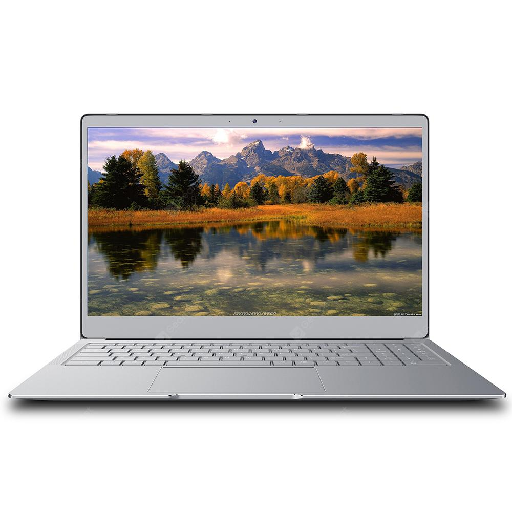 AIWO I10 Notebook 15.6 inç Laptop i plotë metalik Windows 10 Intel Celeron J4105 2.5GHz RAM 8G RAM 512GB SSD 0.3MP Kamera