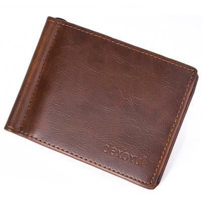 Men's Multi-card Wallet European and American Fashion Small Card Holder