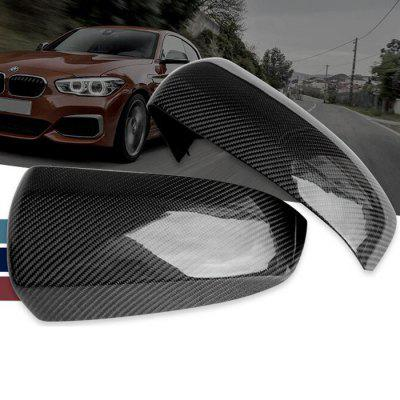 Automotive Carbon Fiber Rearview Mirror Housing Replacement Shell for BMW X5 E70 X6 E71
