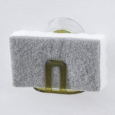 Sink Sucker Type ABS Sponge Storage Rack Portable Draining Soap Holder
