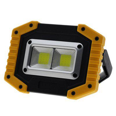 USB Rechargeable Mini LED Floodlight Outdoor Portable Lamp Handheld Emergency Work Light 1000lm