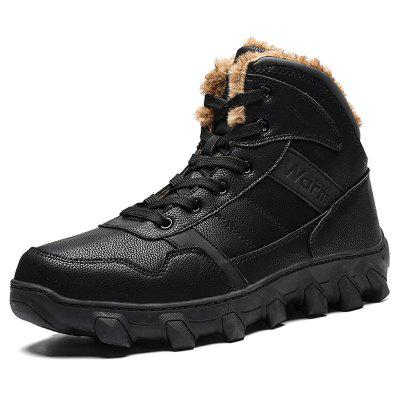 Winter High-top Warm Outdoor Men's Cotton Boots