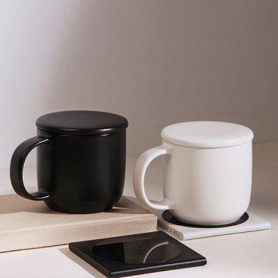 VH Wireless Charge Intelligent Thermostat Mug Automatic Heating Coffee Milk Cup 350ml from Xiaomi youpin