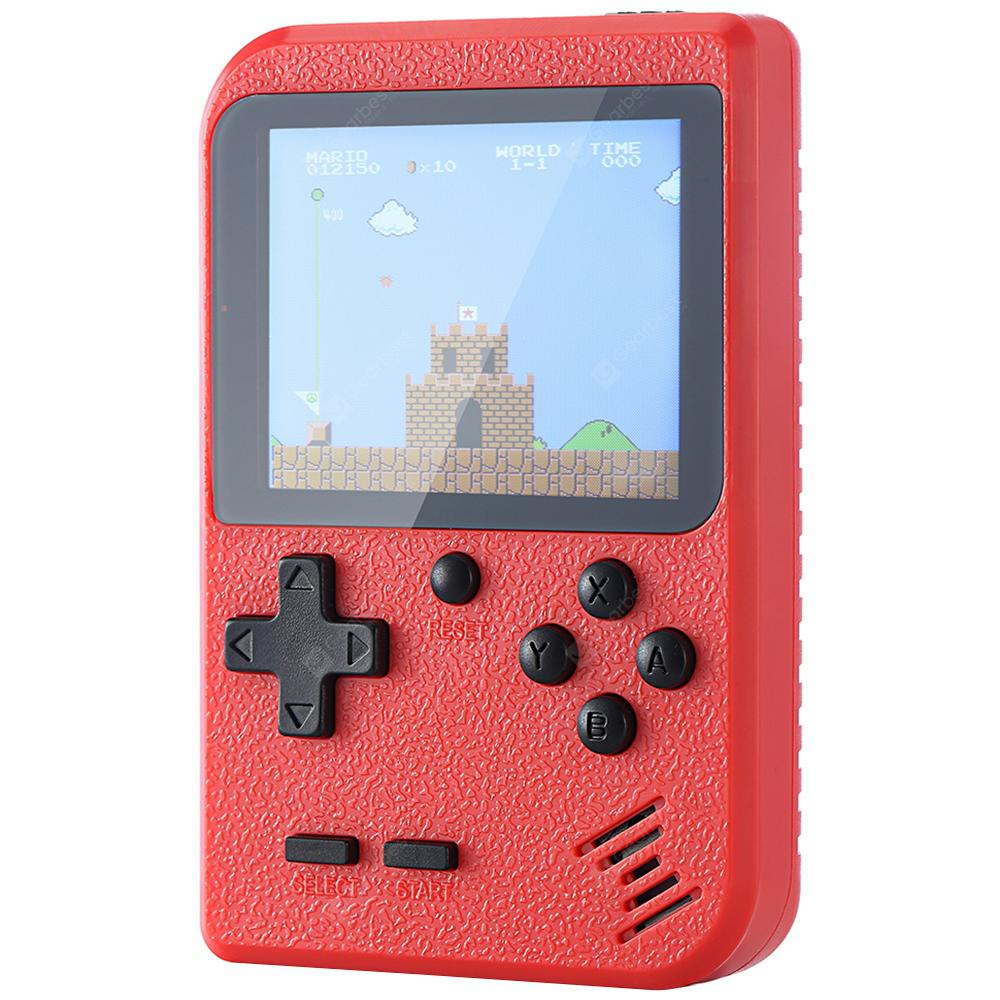 Ragebee 777in1 3.0 inch TFT Display 2 Player Matte Handheld Game Console - Red