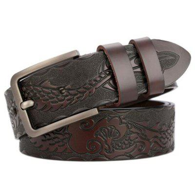 High-end Dragon Craft Leather Men's Personality Belt