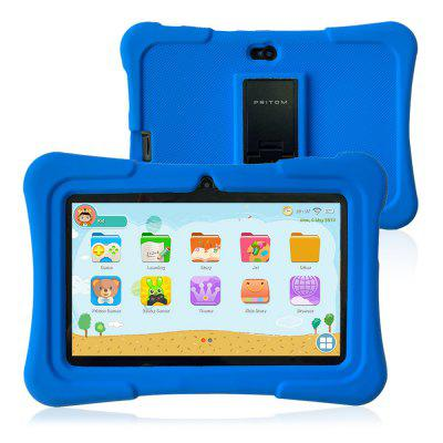 Pritom BT-K7 7.0 inch WiFi Kids Tablet PC Android 9.0 Allwinner A50 Quad-Core 1.8GHz 1GB RAM 16 GB ROM