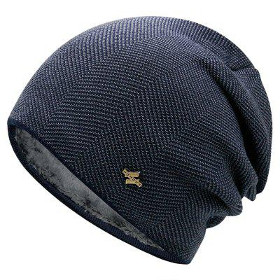 Warme en koude-proof Dik Plus Velvet Skully Hat