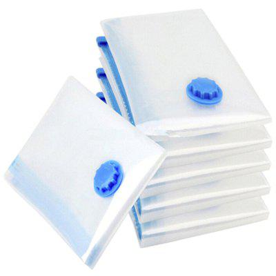 House Vacuum Storage Bag Foldable Edge Transparent Clothes Sealing Bags Space Saving Travel Pack
