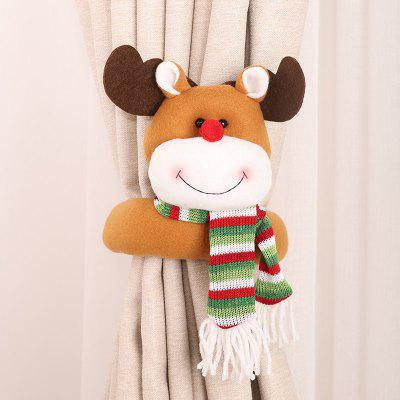 Christmas Series Curtain Buckle Creative Cartoon Doll Ornaments
