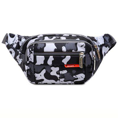 Men's Fashion Multi-pocket Camouflage Waist Bag