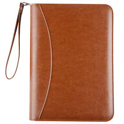Handbag Style Loose-Leaf Fashion Zipper Notebook Card Holder for Stationery / Office / Business Meeting
