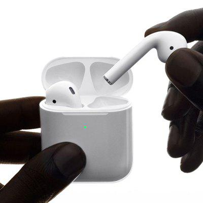 Apple AirPods Bluetooth 5.0 Earphones with H1 Chip Siri Voice Control for Great Sound & Fashion!