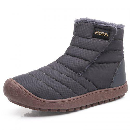 Super explosion Mens Non-Slip wear-Resistant Suede Martin Boots Warm Waterproof Snow Boots Hiking Boots
