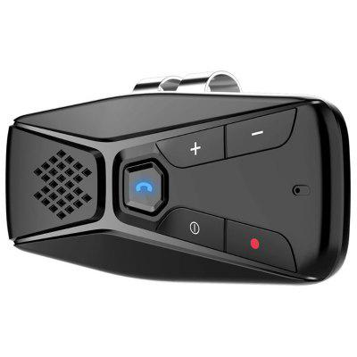 T823 Bluetooth 5.0 Difuzor auto parasolar Hands-free player de navigare Broadcast