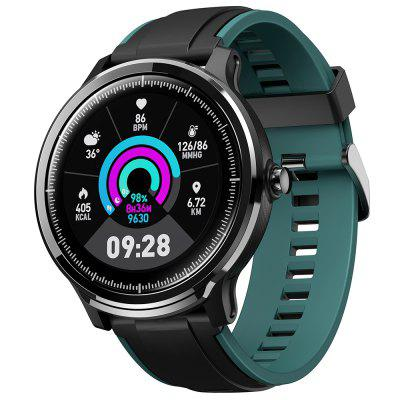 Kospet Probe 1.3 inch Screen Bluetooth Sports Smart Watch IP68 Waterproof Double Color Fashion Strap Fitness Monitor Two Small Gifts