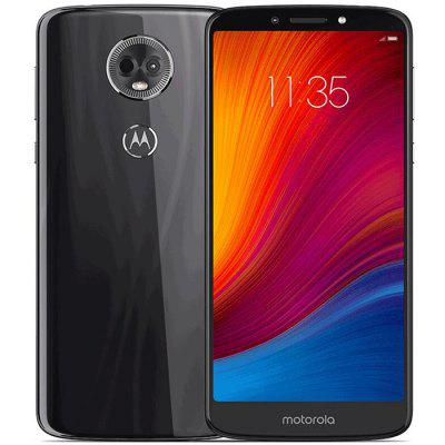 Smartphone 4G Motorola E5 Plus 6,0 pouces Android 8.0 Snapdragon 430 Octa Core 4Go RAM 64Go ROM Caméra Arrière 16,0MP Batterie 5000mAh Version Internationale