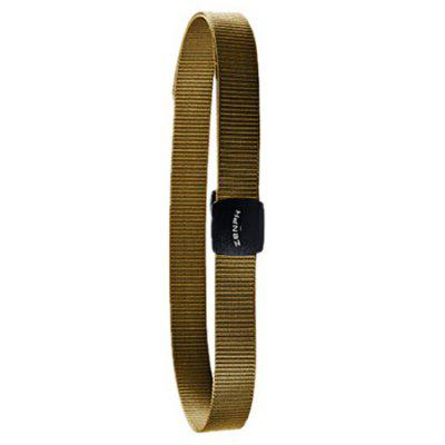 Zaofeng HW130101 Lightweight and Durable Metal Free Outdoor Tactical Belt with YKK Plastic Buckle