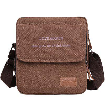 High-end Casual canvas Crossbody Bag