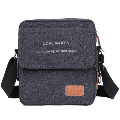Casual Business Canvas crossbody Bag high-end pentru bărbați