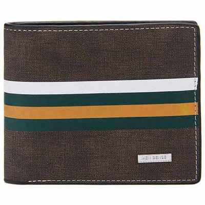 Men's Standard Wallet Multi-functional Large Capacity European and American Style Matte Leather Purse