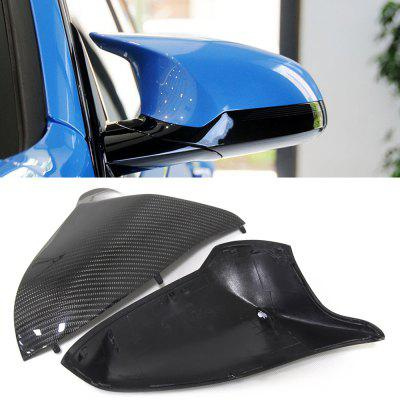 Automotive Carbon Fiber Rearview Mirror Cover Replacement Shell for BMW M3 F80 M4 F82 2014 2pcs