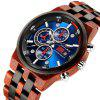 KUNHUANG KH1020 Pánské multifunkční Quartz Watch Fashion Luminous Sports - MULTI-B