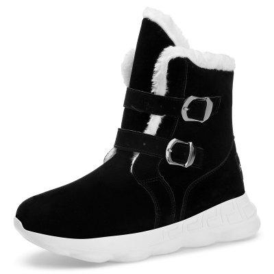 Heren Winter High-top snowboots grote werven Cotton Schoenen