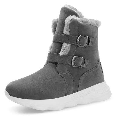 Pánske Winter High-top Snow Boots Big Yards bavlnené Obuv